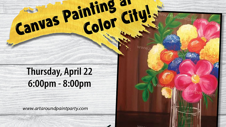 Canvas Painting at Color City!
