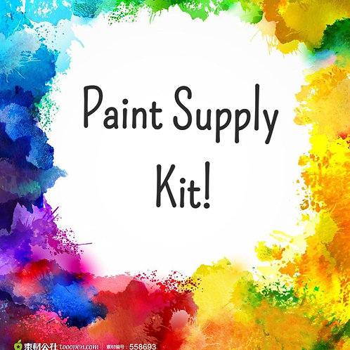 Paint Supply Kit ONLY