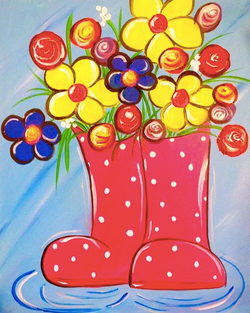Blooms in Boots