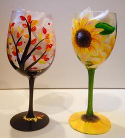 Sept wine glasses 3