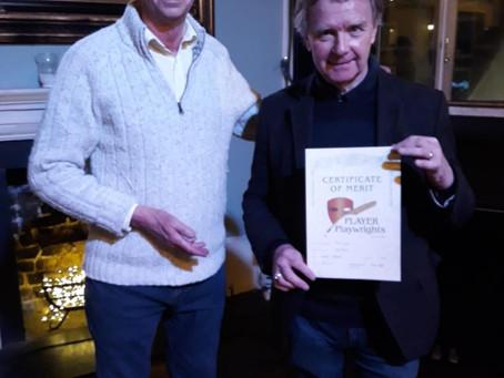 Short play contest: Michael's a winner