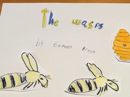 Monday  9 March, 7.30pm​: The Wasps, by Eamann Breen