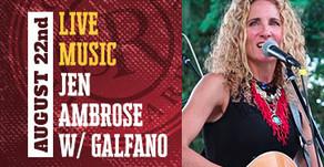 LIVE MUSIC w/ Ambrose & Galfano