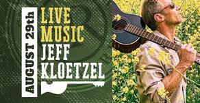 LIVE MUSIC w/ Jeff Kloetzel