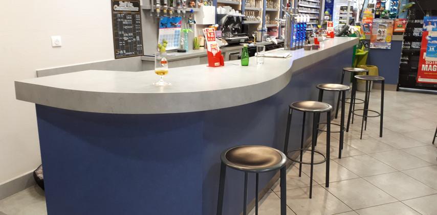 Comptoir et bar