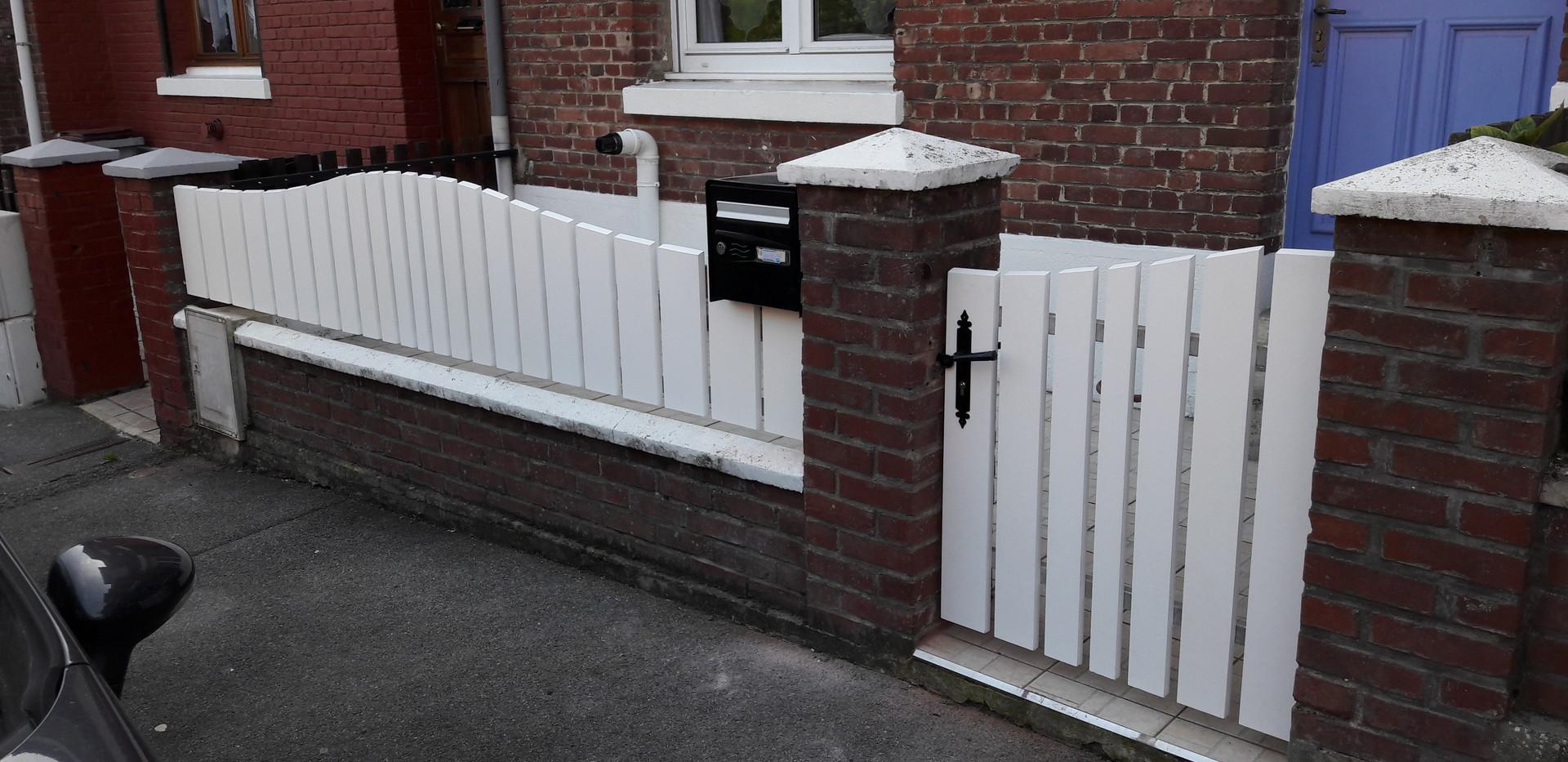 Barrière et portillon