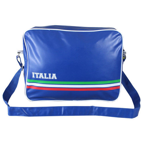 Retro Style Football Sports Bag Uni School Gym Flight Shoulder Cross Messenger All Weather Classic Airline