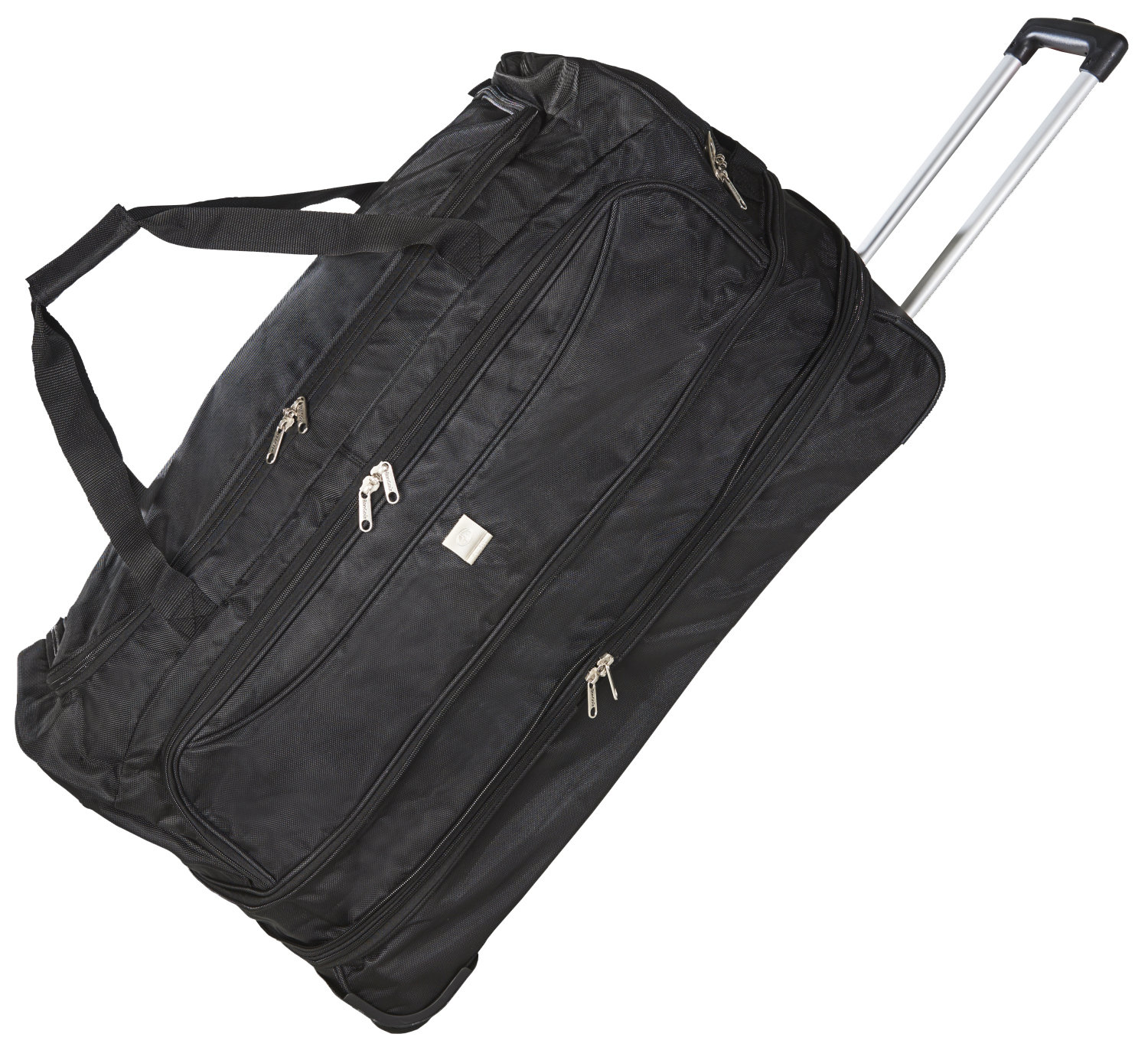 Large Expandable Wheeled Trolley Roller Travel Duffel Bag Luggage With Wheels