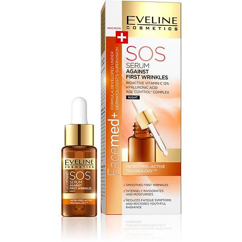 FACEMED SOS SERUM AGAINST FIRST WRINKLES 18ML