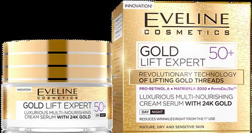 GOLD LIFT EXPERT DAY AND NIGHT CREAM 50+ 50ML