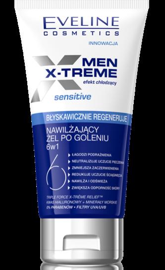 Eveline Cosmetics  MEN X-TREME After Shave hidrantante  Sensitive, acalma o rost
