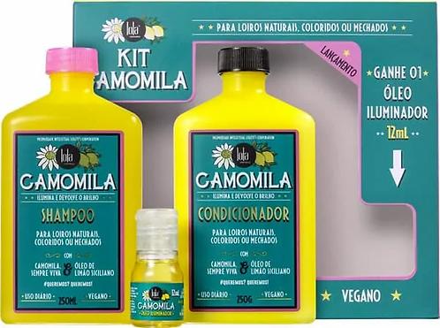 Kit camomila sh+cond+oleo