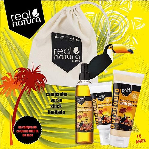 Real Natura Kit Urucum + Oferta Saco
