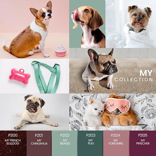 Coleção Verniz Gel PURPLE – My Collection 6 cores (P2120 ao P2125)
