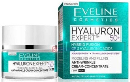 HYALURON EXPERT DAY AND NIGHT CREAM 50+ 50ML