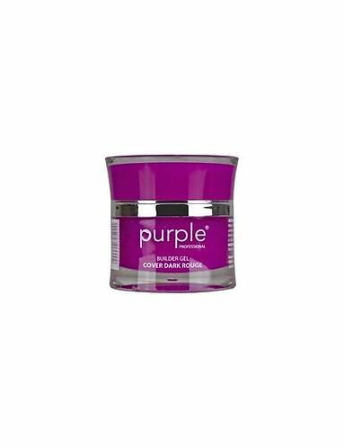 Gel Cover Dark Rouge 50gr  Purple