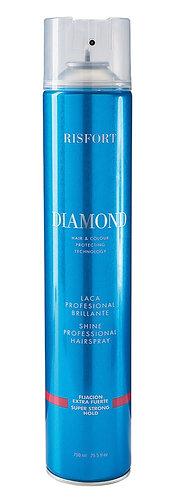 Risfort Laca Diamond Fixação Extra Forte com Brilho 750 ML