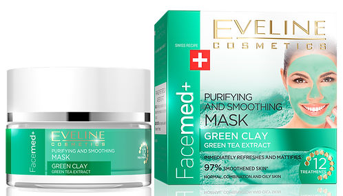 FACEMED PURIFYING AND SMOOTHING MASK GREEN CLAY 50ML