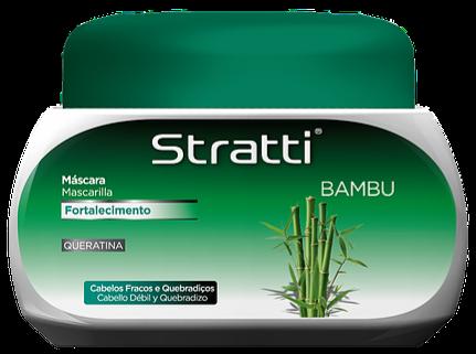 MASCARA STRATTI BAMBÚ 550 G