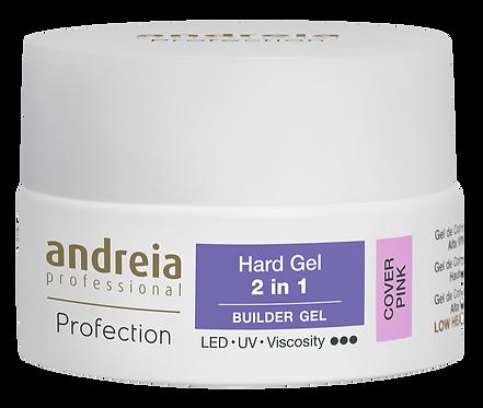 Andreia Profection Hard Gel 2 Em 1 - Cover Pink 22g