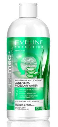 FACEMED REF. AND SOOTHING ALOE VERA MICELLAR WATER 400ML