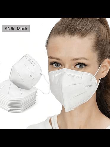 Máscara de Proteção KN95 FFP2 , 5 camadas FFP2