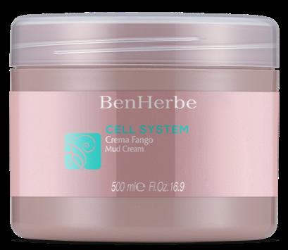 Benherbe Cell System Creme Fango  Anticelulítico 500ml