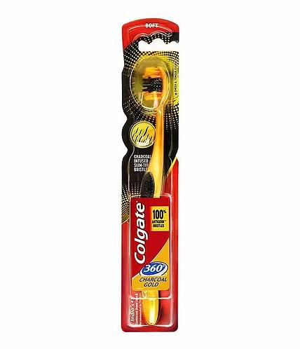 Colgate Charcoal Gold Escova de Dentes