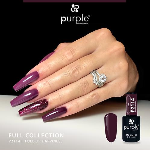 Verniz Gel Purple P2114 - Full of Hapiness 10ml