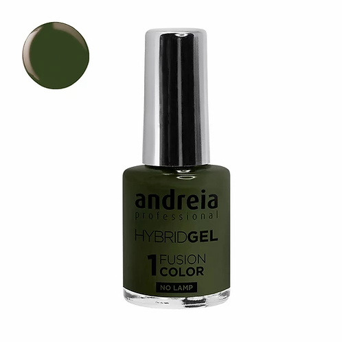 Andreia Hybrid Gel - H82 Verde Tropa 10.5ml