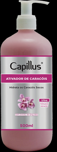 ATIVADOR CAPILLUS CARACOIS SECOS 500ML
