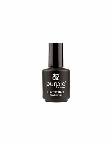 Queen Elástic Base Milky White 15ml  - Purple