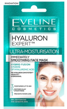 HYALURON EXPERT IMMEDIATELY SMOOTHING FACE MASK 3 IN 1 7ML