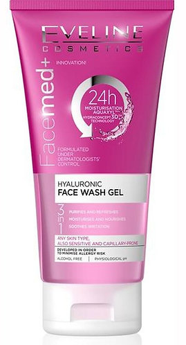 SPA FACEMED+HYALURINIC FACE WASH GEL 150ML