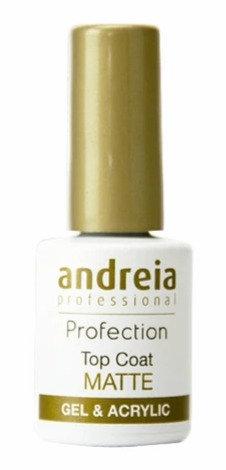 Andreia Profection Top Coat Matte For Gel & Acrylic 10.5ml