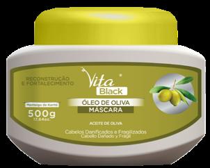 MASCARA VITABLACK OLEO DE OLIVA 500G