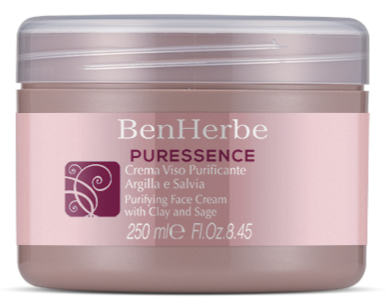 Benherbe Creme De Rosto Purificante 250ml