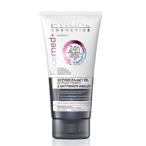 FACEMED PURIFYING FACIAL WASH GEL WITH ACT. CARBON 150ML