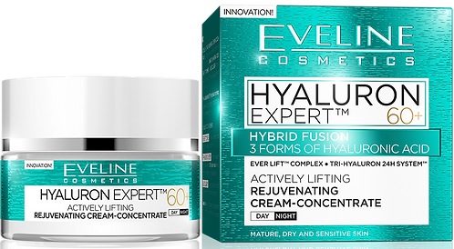 HYALURON EXPERT DAY AND NIGHT CREAM 60+ 50ML