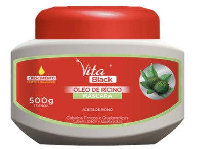 MASCARA VITABLACK OLEO DE RICINO 500G
