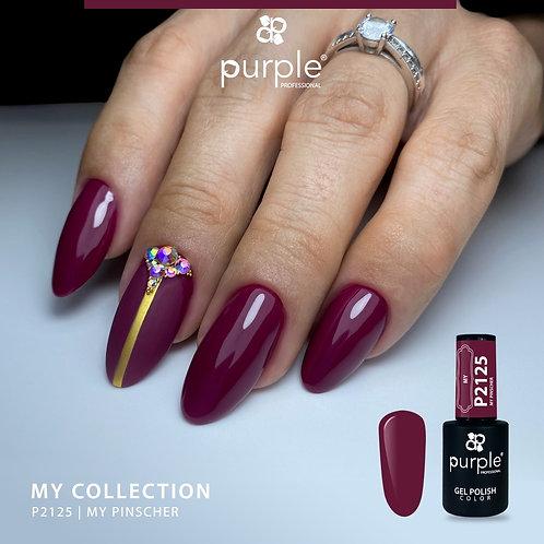 Verniz Gel Purple P2125 - My Pinscher 10ml