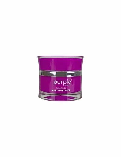 Gel Milky White Opacke 50gr  Purple