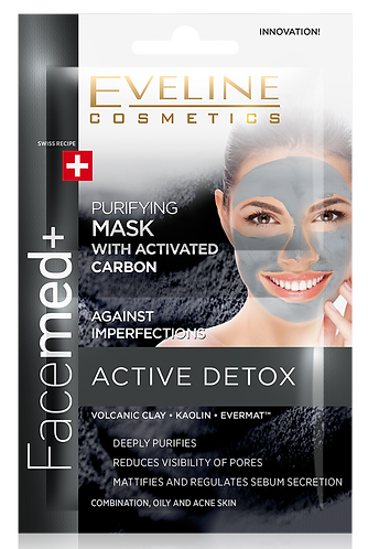 FACEMED PURIFYING FACE MASK WITH ACTIVATED CARBON 2X5ML