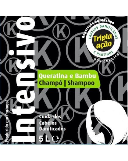 Real natura shampô 5lt keratina/bambu