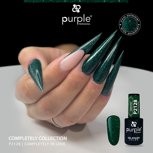 Verniz Gel Purple P2128 - Completely in Love 10ml