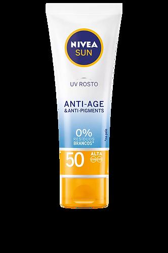 Nivea Proteção Creme UV rosto anti-age SPF50  - 50ml