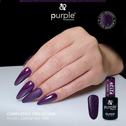 Verniz Gel Purple P2129 - Completely Free 10ml