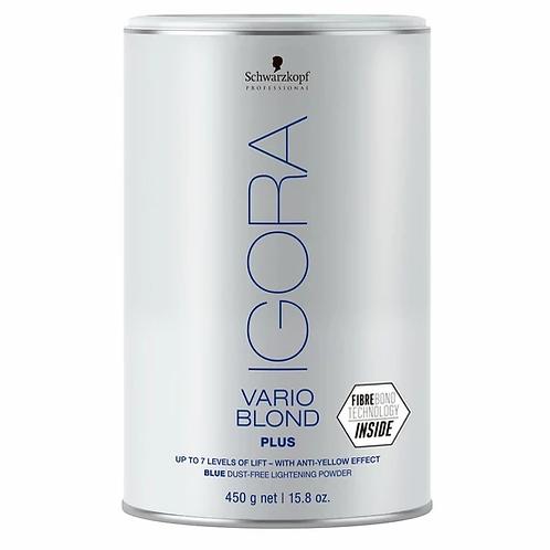 Schwarzkopf Professional Descolorante Igora Vario Blond Plus Fibrebond Tec  450g