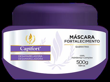 MASCARA FORTAL. CAPIFORT CABELOS COM ALISAMENTO 500 G
