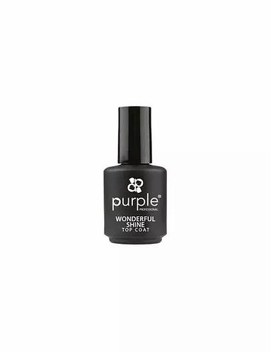 2 Way Base & Top Coat 15ml  Purple